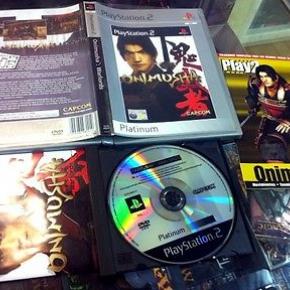 ONIMUSHA WARLORDS PS2 PLAYSTATION 2 PAL ESPAÑA COMPLETO INCLUYE GUIA DE REGALO
