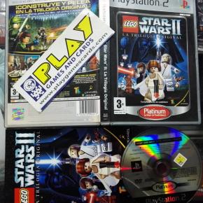 LEGO STAR WARS II LA TRILOGIA ORIGINAL PAL ESPAÑA COMPLETO PS2 PLAYSTATION 2