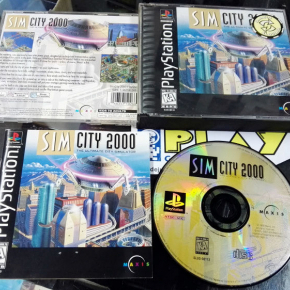 SIM CITY 2000 NTSC USA BUEN ESTADO PLAYSTATION 1 PSX PS1 PS PSONE ENVIO 24H