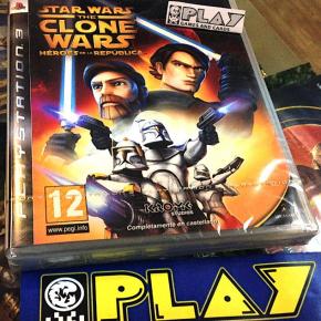 STAR WARS CLONE WARS HEROES DE LA REPUBLICA PS3 PLAYSTATION 3 PAL ESP NUEVO NEW