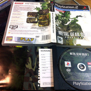 METAL GEAR SOLID 3 SNAKE EATER PS2 PLAYSTATION 2 PAL ESPAÑA COMPLETO BUEN ESTADO