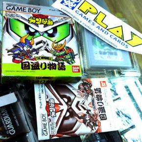 SD GUNDAM SD SENGOKUDEN GAME BOY GAMBEBOY JAP COMPLETO BANDAI BUEN ESTADO
