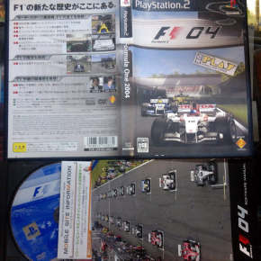 FORMULA ONE 2004 F1 04 NTSC JAPAN PS2 MUY BUEN ESTADO PLAYSTATION 2 ENVIO 24H