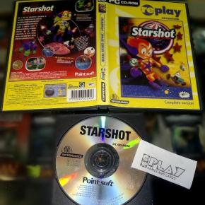STARSHOT SPACE FEVER PAL ESPAÑA JUEGO PARA PC EN BUEN ESTADO CD-ROM STAR SHOT