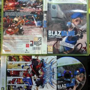 BLAZ BLUE CALAMITY TRIGGER BLAZBLUE PAL ESPAÑA MUY BUEN ESTADO XBOX 360 ENVIO24H