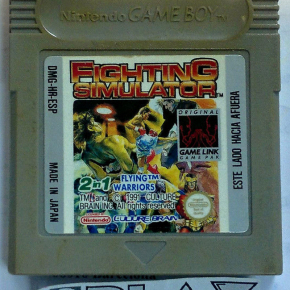 FIGHTING SIMULATOR FLYING WARRIORS 2 in 1 PAL ESPAÑA GAMEBOY GAME BOY GB CLASSIC