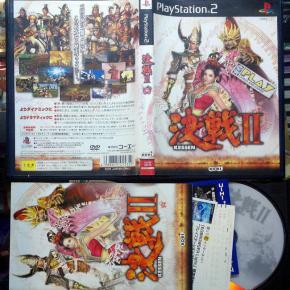 KESSEN II 2 JAPAN IMPORT COMPLETO MUY BUEN ESTADO PS2 PLAYSTATION 2 ENVIO 24H