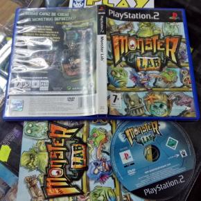 MONSTER LAB PAL ESPAÑA COMPLETO PS2 PLAYSTATION 2 ENVIO CERTIFICADO / 24H