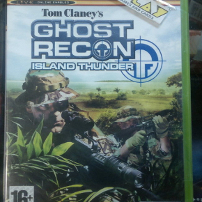 TOM CLANCY'S GHOST RECON ISLAND THUNDER PAL ESPAÑA NUEVO PRECINTADO NEW XBOX