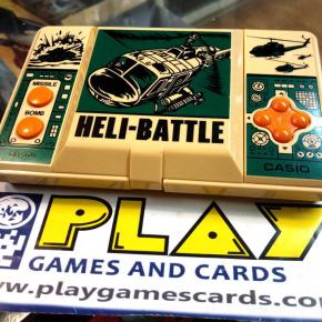 HELI BATTLE HELI-BATTLE HANDHELD MAQUINITA GAME & WATCH CASIO CG-370 1987