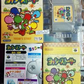 YOSHI'S STORY COMPLETO MUY BUEN ESTADO NTSC JAPAN IMPORT N64 NINTENDO 64