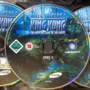 PETER JACKSON'S KING KONG PC PAL SOLO DISCO ENVIO CERTIFICADO / AGENCIA 24 HORAS