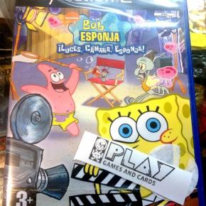 BOB ESPONJA LUCES CAMARA ESPONJA! PAL ESPAÑA PS2 NUEVO PLAYSTATION 2 SPONGEBOB