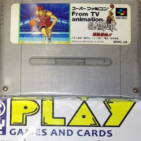 Slam Dunk From TV animation NTSC JAPAN IMPORT SNES SUPER FAMICOM NES NINTENDO