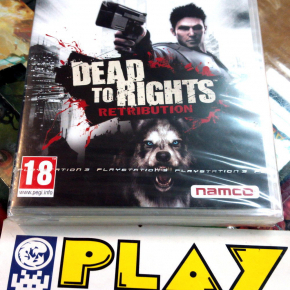 DEAD TO RIGHTS RETRIBUTION PAL ESPAÑA PS3 PLAYSTATION 3 NUEVO NEW sealed NAMCO