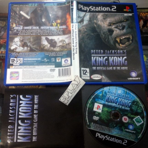 PETER JACKSON'S KING KONG PAL ESPAÑA MUY BUEN ESTADO COMPLETO PS2 PLAYSTATION 2