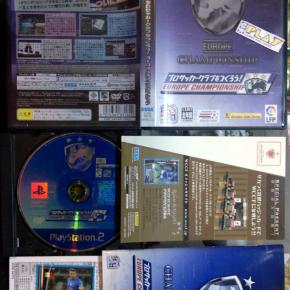 PRO SOCCER CLUB O WO TSUKUROU! EUROPE CHAMPIONSHIP NTSC JAPAN PS2 PLAYSTATION 2
