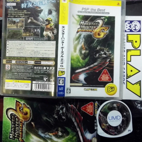 MONSTER HUNTER PORTABLE 2nd G JAPAN BEST COMPLETO PSP ENVIO CERTIFICADO / 24H