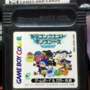 Dragon Quest Monsters Terry no Wonderland Warrior JAP GAME BOY GAMEBOY GBC COLOR