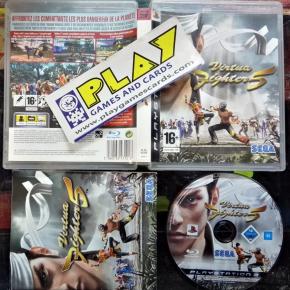 VIRTUA FIGHTER 5 PAL COMPLETO BUENESTADO PS3 PLAYSTATION 3 ENVIO CERTIFICADO/24H