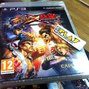 STREET FIGHTER CROSS X TEKKEN PS3 PLAYSTATION 3 NUEVO PRECINTADO ENTREGA AGENCIA