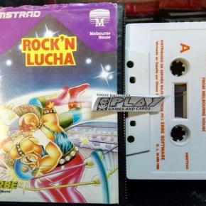 ROCK N LUCHA WRESTLE CINTA TAPE PAL ESPAÑA AMSTRAD ERBE SOFTWARE ENVIO 24H