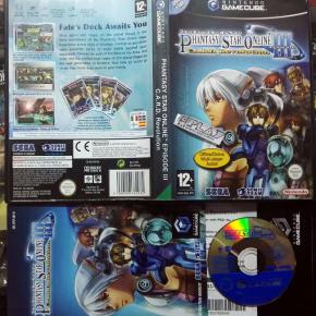 PHANTASY STAR ONLINE EPISODE III CARD REVOLUTION GAMECUBE GAME CUBE GC ENVIO 24H