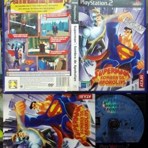 SUPERMAN SOMBRA DE APOKOLIPS PAL ESPAÑA COMPLETO PS2 PLAYSTATION 2 ENVIO 24H