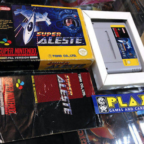 SUPER ALESTE SNES SUPER NINTENDO PAL ESPAÑA SPACO VERSION COMPLETO ENTREGA 24 H