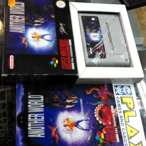 ANOTHER WORLD SUPER NINTENDO SNES PAL ESPAÑA COMPLETO BUEN ESTADO ERBE VERSION