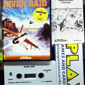CAROL SHAW'S RIVER RAID VERSION ESPAÑOLA COMMODORE 64 BUEN ESTADO