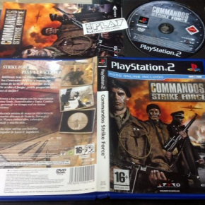 COMMANDOS STRIKE FORCE PS2 PLAYSTATION PAL ESPAÑA COMPLETO BUEN ESTADO 24 HORAS