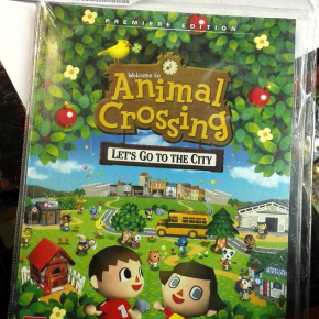 GUIA GUIDE BOOK ANIMAL CROSSING LET'S GO TO THE CITY PREMIERE EDITION NUEVA NEW