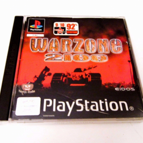 Warzone 2100 PS1 PSX PSONE Playstation