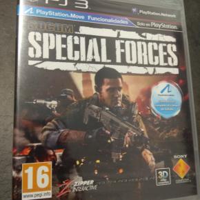 SOCOM Special Forces PAL ESP PS3 Nuevo