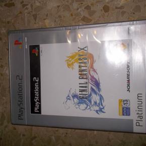 FINAL FANTASY X PLATINUM COMPLETO PAL ESPAÑA PLAYSTATION 2 PS2