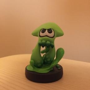 Amiibo Splatoon Calamar (verde)