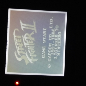 Gameboy con mod de luz.