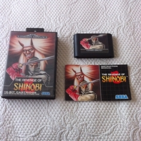 JUEGO MEGADRIVE THE REVENGE OF SHINOBI