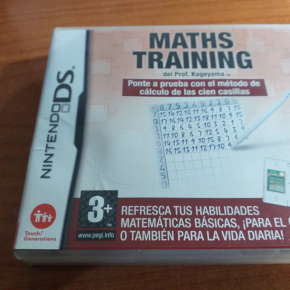 MATHS TRAINING NINTENDO DS