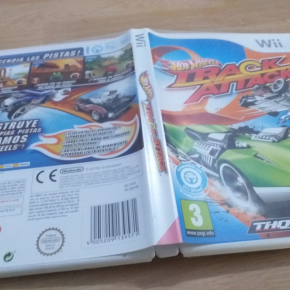 Hot Wheels Track Attack PAL ESP Wii Nintendo