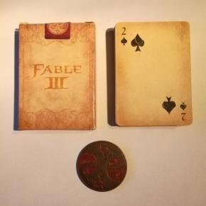 Baraja y medallón de Fable III Edición Limitada