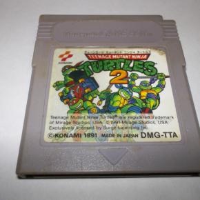 GAMEBOY TORTUGAS NINJA 2 TURTLES NINJA 2 TNMT 2 GAME BOY