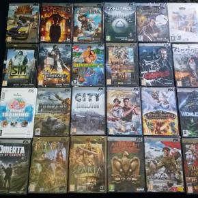 Lote de 49 Juegos de PC en 25 titulos distintos Todos nuevos precintados
