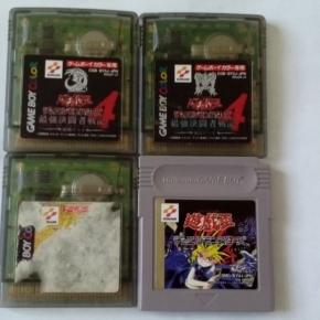 GAMEBOY Yu-Gi-Oh! Duel Monsters 1 Y III, 4 Yu GI DECK Y 4 KAIBA GAME BOY LOTE