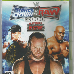 WWE Smackdown vs Raw 2008 (PAL)/