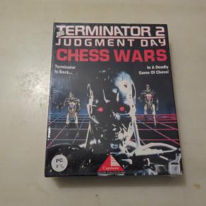 RARO !! PC DOS: 3 1/2 TERMINATOR 2 JUDGMENT DAY CHESS WARS PAL ESPAÑA PRECINTADO