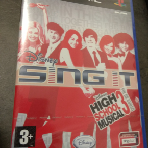 Sing It Disney PAL ESP PS2