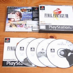Final Fantasy VIII PS1 pal Esp