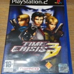 Time Crisis 3 PS2 Pal Esp